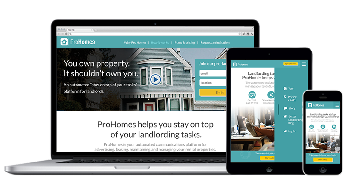 prohomes all screens